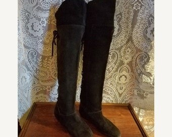 Vintage thigh high boots – Etsy