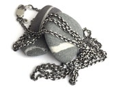 Reserved for Randi - Long Sterling Cable Chain