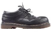 DOC MARTENS Shoes 80s Original Distressed Platform Chunky Steel Toe Real Leather Wide Fit Unisex Made in England  Us men 8 Eur 41 Uk 7.5