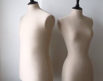 Male Mannequin Full Sized Display Dressform - Stone