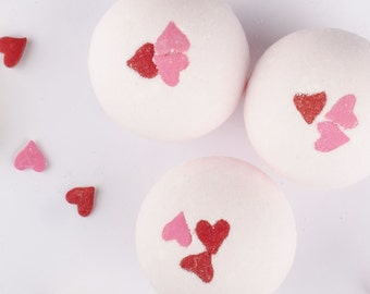 Pink Mimosa Bomb - 1 Bath Bomb Fizzie - Wife Gift - Girlfriend Gift - Gift for Her - Mothers Day Gift