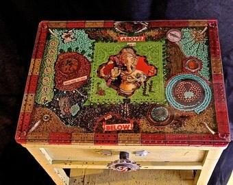 Ganesha Side Table