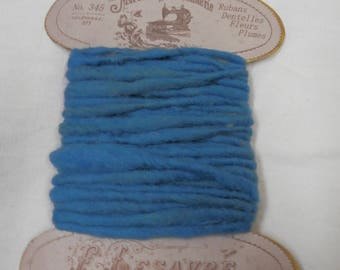 Vintage Hand Spun / Hand Dyed Wool Yarn for Weaving / Basketry / Art or Craft