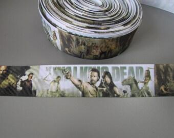 Walking Dead Grosgrain Ribbon x 1 metre