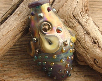 TRANSCEND - Handmade Lampwork Focal Bead - 1 Focal Bead - One of a Kind