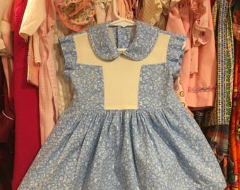 1950s Toddler Dress 2/3T