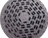 DOORMAT - London Manhole Cover - Original Photography