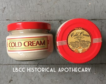 1930's Cold Cream Clay Cleansing Mask - Oily Skin- Acne Prone Skin- Nightly Mask- Vintage Skin Care- Vintage Cold Cream - 1936