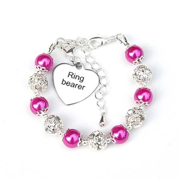 Ring Bearer Gift Wedding Kids Gifts Ring Bearer Bracelet