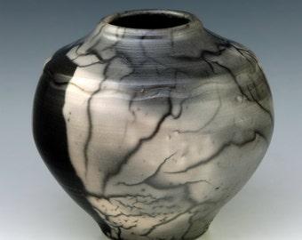 Naked Raku 28 vessel, pot