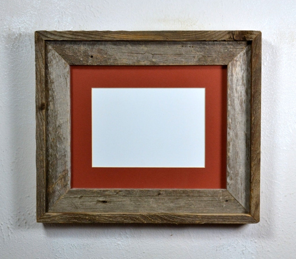 Eco Friendly Reclaimed Wood Picture Frame With 5x74x6 Or 8x6