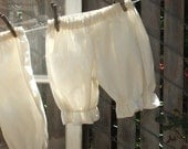 Toddler 4T -5T Natural Basic Bloomers Cotton No Lace Ready now!