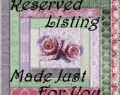 Reserved Listing for:  Juliana LaRossa-Dzerens