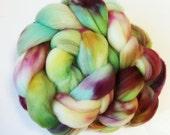 """Superwash Merino Wool Spinning Fiber, 4 oz, """"Fringe"""""""