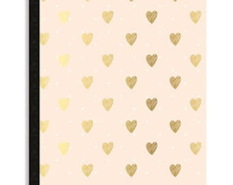 Webster's Pages New Composition Planner Inserts- Day Tracker with Hearts