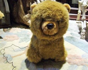 Plush Teddy Bear Radio (Vintage)