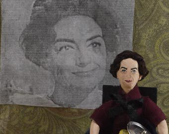 Joan Crawford as Blanche in Whatever Happened to Baby Jane Doll Miniature Golden Hollywood Actress