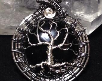 Blackstone Tree Of Life, pendant, amulet, Yggdrasil