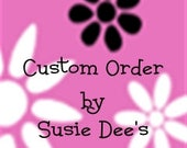 Custom Listing for Toni - Pink Bouquet