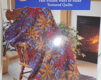 Ragged-Edge Flowers quilt book