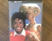 Michael Jackson ET Extra Terrestrial Cassette Tape RARE