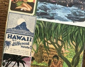 Let's Travel to Hawaii Vintage Collage, Scrapbook and Planner Kit Number 2367