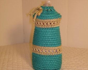 New Crochet Dish Liquid Cover, Wrap, Coat, Dress-----Ready to ship