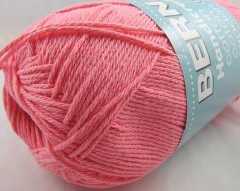 Bernat Handicrafter Cotton Yarn 14 oz. Ball STRAWBERRY