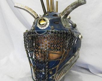 Post Apocalyptic Battle Helmet