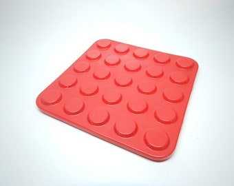 Copco Trivet Hotplate - Red Button Model - Melamine - Heat Resistant