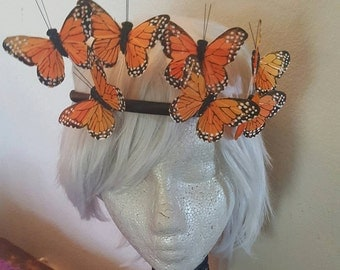 Snap chat filter, Snap chat costume, Butterfly, Butterfly headband, Butterfly band, MsFormaldehyde, halloween