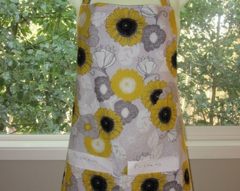 Aprons for Women - Womens Aprons - Golden Sunflowers and More