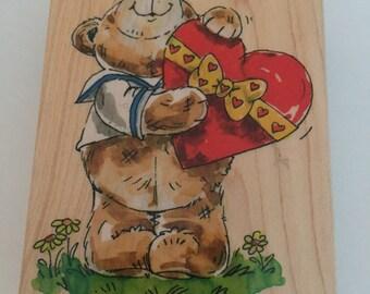 Love Valentine's Day Rubber Stamp - Penny Black