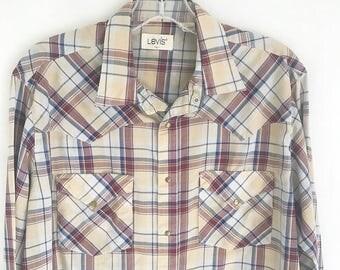 Vintage 70's LEVIS Grunge Shirt