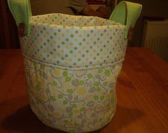 Round storage bag