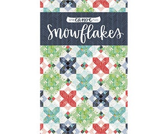 Snowflakes Quilt Pattern *PDF Download* // 1canoe2