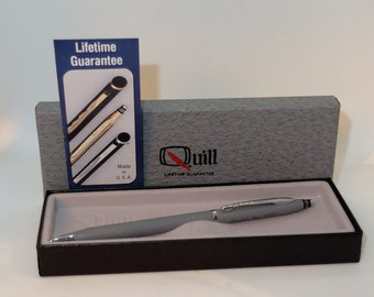 Vintage Quill Gray Ballpoint Pen New in Box
