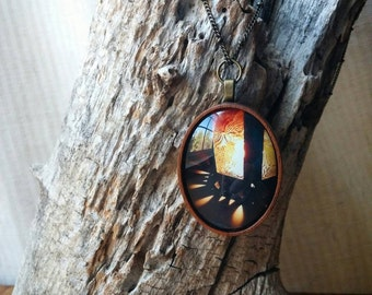 Lantern Photography Necklace - By Candelight