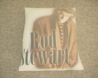 ROD STEWART big pillow See Add As Is uSA oNLY