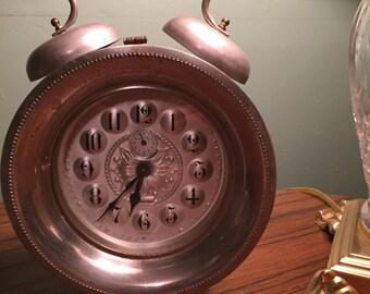 Vintage West German Wedgefield Alarm Clock