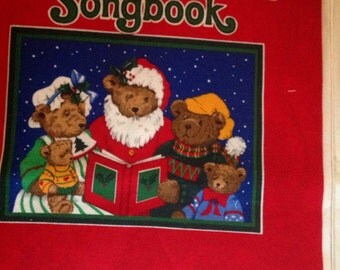 Song book Merry Christmas