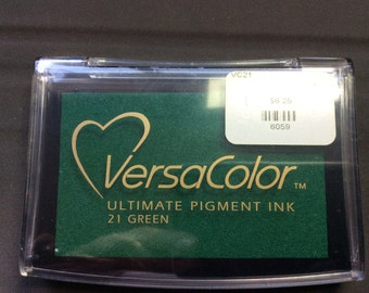 VersaColor  Ultimate Pigment Ink  Green #21
