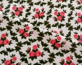 Vintage Floral French Fabric