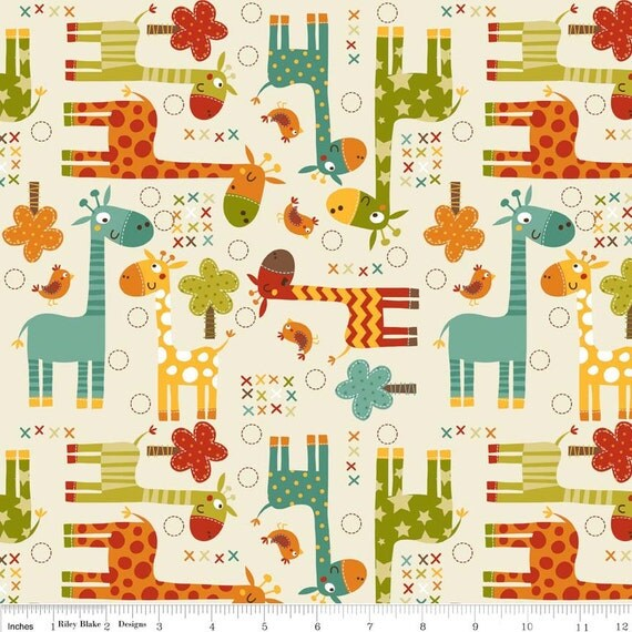 Giraffe home decor fabric cotton duck 55 56 wide for Decor 55 fabric