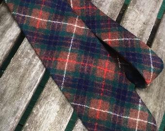 Pendleton 100% Virgin Wool Plaid Necktie
