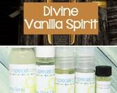 Divine Vanilla Spirit Fragrance, Perfume Spray, Body Spray, Perfume Roll On, Perfume Oil, Dry Oil Spray, You Choose the Product