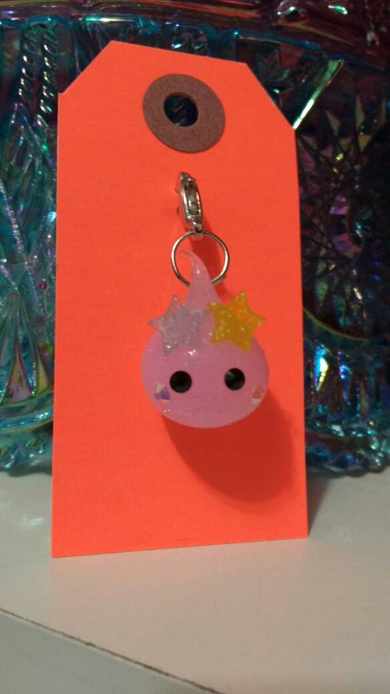 Squishy Sparkly Dew Drop Charm planner bible didori journal clip from thegrantgirl on Etsy Studio