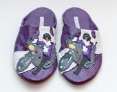 Prince Purple Rain Adult Slippers