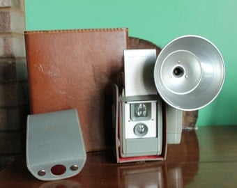 Anasco Anscoflex TLR Camera with flash working