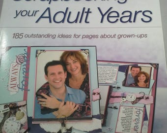 185 adult grown idea outstanding page scrapbooking ups years
